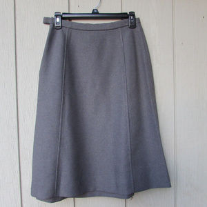 Vintage Grey Skirt w/ Zipper!